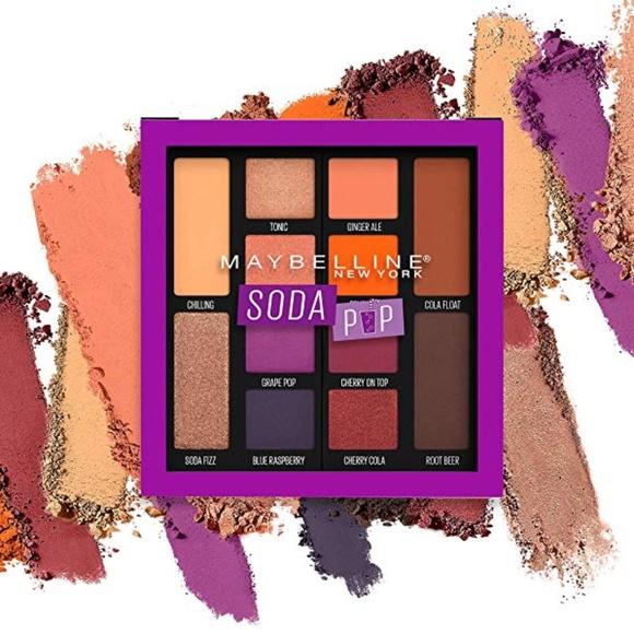 MAYBELLINE Soda Pop Eyeshadow Palette